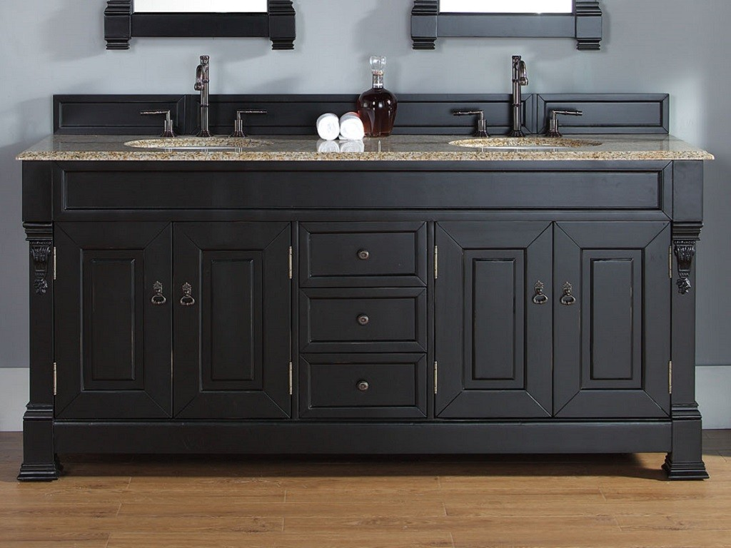 Black Vanity Bathroom
