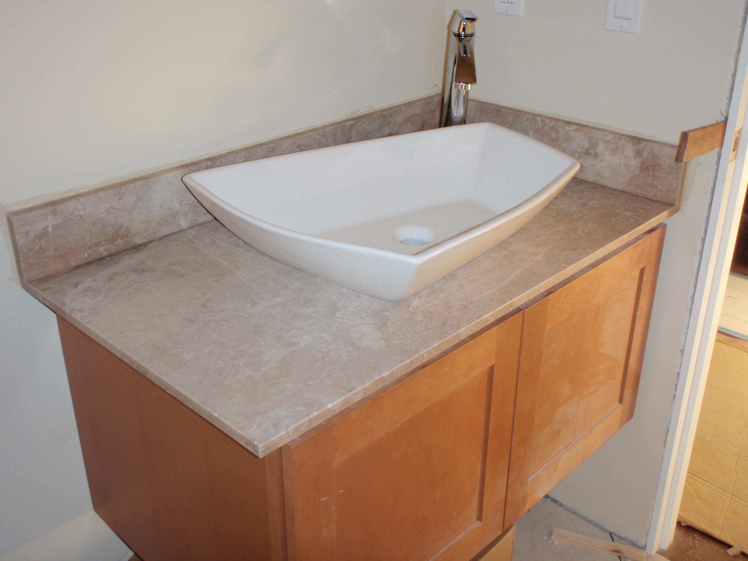 unfinished wood bathroom vanities